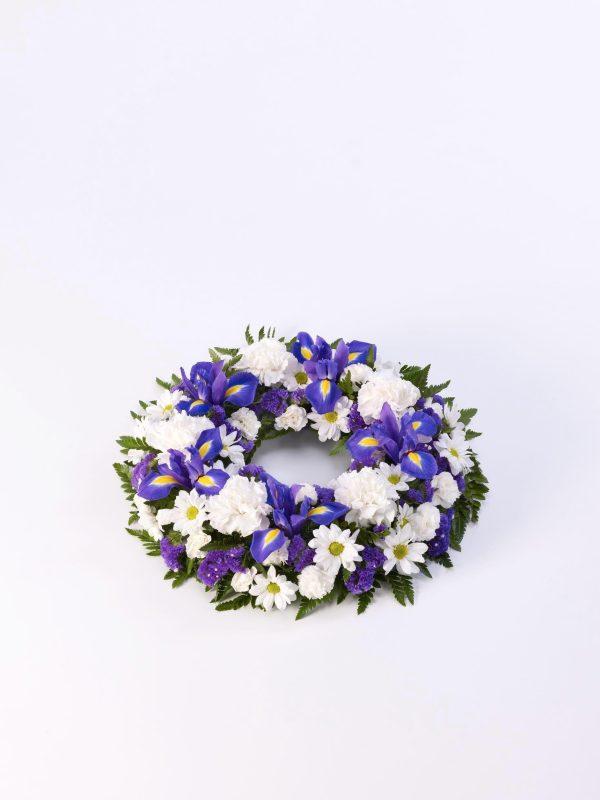 Corona Clasico - Azul Y Blanco