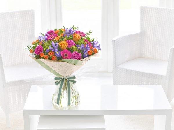 Brillantes Grandes Florecientes Hechos A Mano