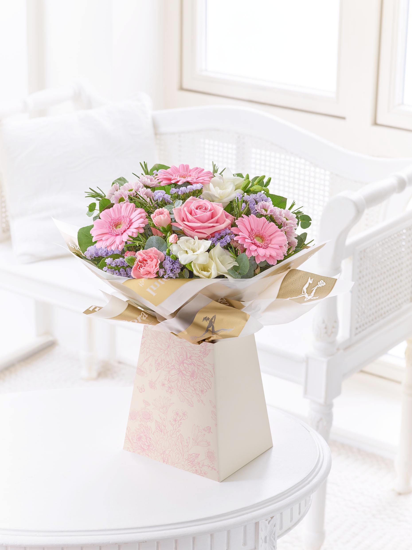Caja De Regalo Rosa