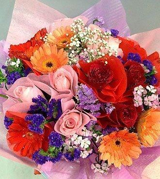Mixed Cut Flowers Bouquet