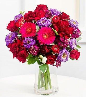 Romantic Bouquet in Purpl