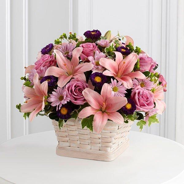 Loving Sympathy Basket - Deluxe